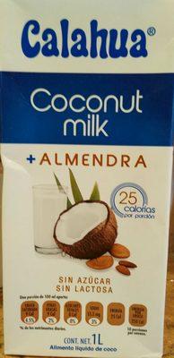 Coconut Milk + almendra