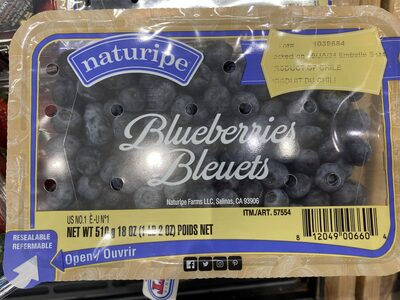 Blueberries bleuets