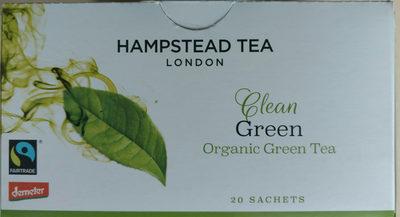 Hampstead Tea London Organic Green Tea Sachets Organic