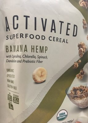 Activated superfood cereal