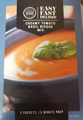 Easy Fast Delish, Creamy tomato basil bisque mux