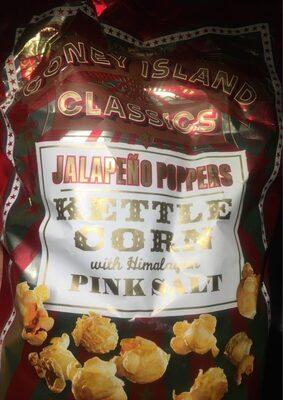 JALAPEÑO POPPERS Kettle corn with Himalayan Pink Salt