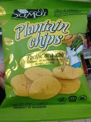 Plantain Chips Pacific sea salt
