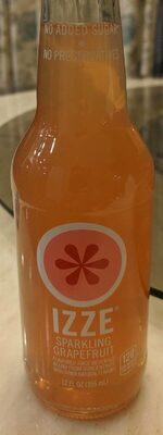 Flavored juice beverage blend from concentrate, sparkling grapefruit