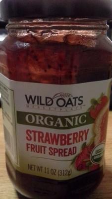 Wild oats market place, fruit spread, strawberry