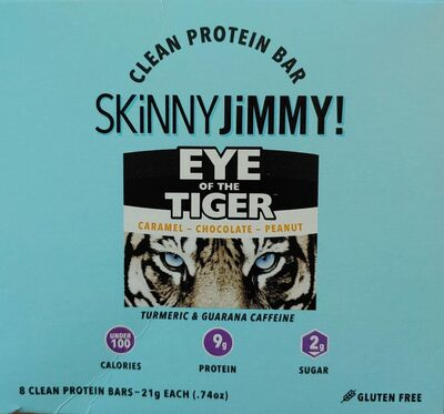 Clean Protein Bar - Eye of the Tiger