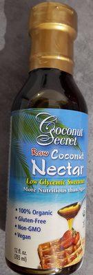 Coconut secret, raw coconut nectar