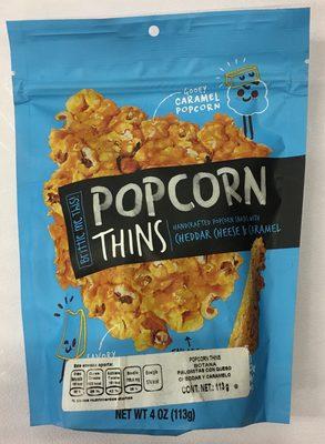 Crazy-good pressed popcorn