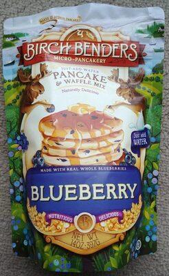 Blueberry - Pancake & Waffle mix
