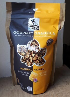 Gourmet Granola Nature, Miel Doré, Racine de Maca
