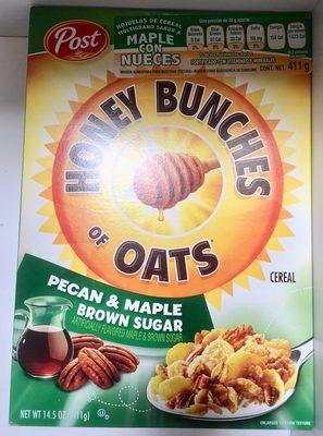 Pecan & maple brown sugar cereal