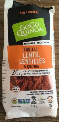 Fusilli Lentilles et Quinoa