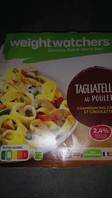tagliatelles poulet weight warchers