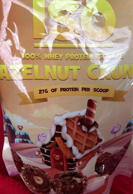 Iso whey protein isolate hazelnut crunch
