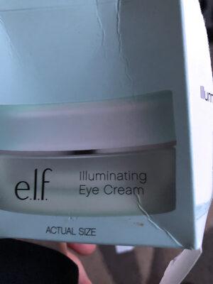 Elf eye cream