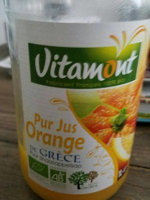 Pur jus orange de Grèce