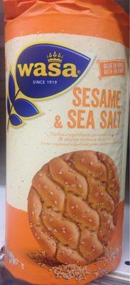 Wasa sesame & sea salt