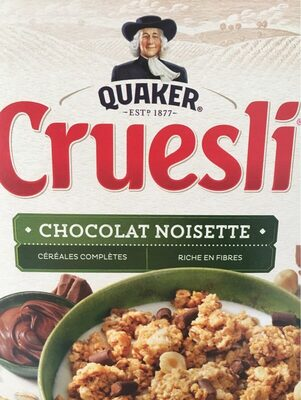 Cruesli chocolat noisette