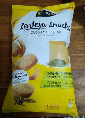 Snatt's Lenteja snacks queso y especias