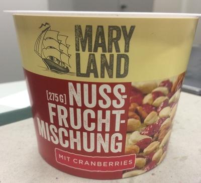 Nuss-Frucht-Mischung mit Cranberries