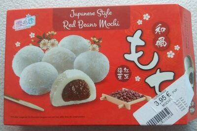Red Beans Mochi