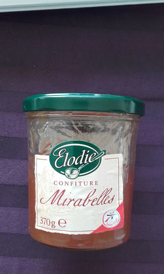 confiture Elodie mirabelles