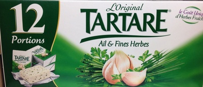 L'Original Tartare, Ail & Fines Herbes (12 Portions) - (32,2 % MG)