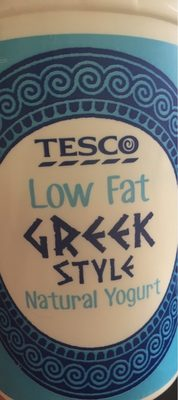 Low fat greek style natural yogurr