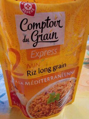 Riz long grain 2 min à la méditerranéenne