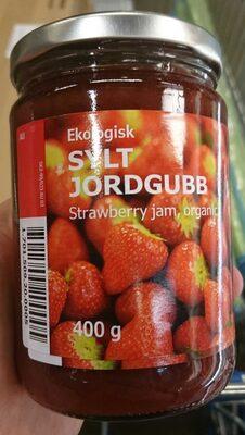 Ekologisk sylt jordgubb strawberry jam