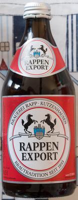 Rappen Export