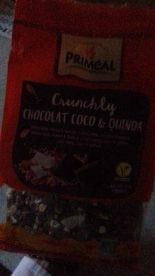 crunchly chocolat coco et quinoa (priméal)