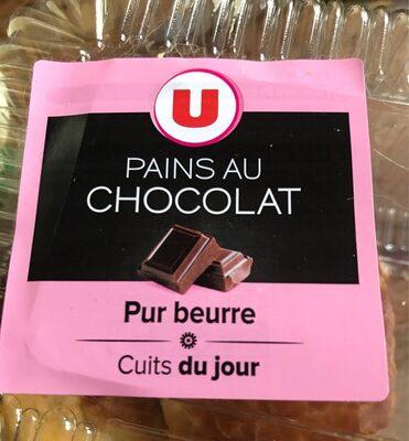 Pains au chocolat pur beurre selection U