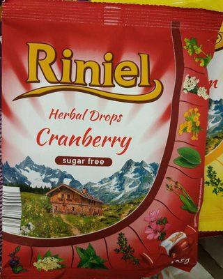 Herbal drops cranberry