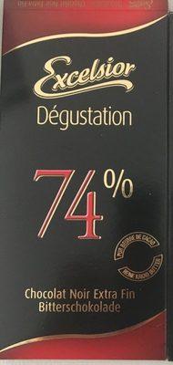 Chocolat noir extra fin 74%