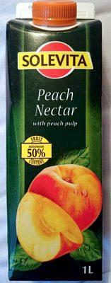 Peach Nectar with Peach Pulp