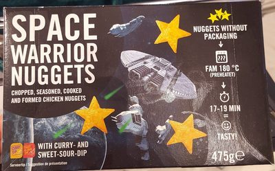 Space warrior nuggets