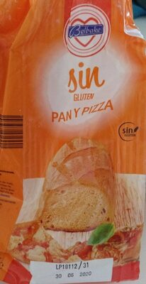 Harina sin gluten pan y pizza