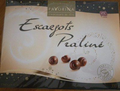Escargots Praliné Chocolat au Lait