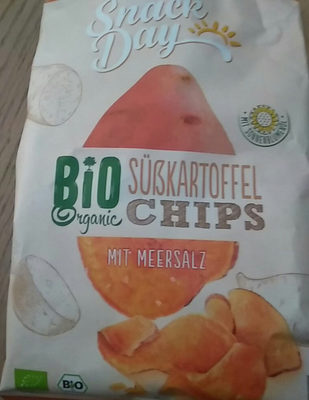 Chips patate douce lidl BIO