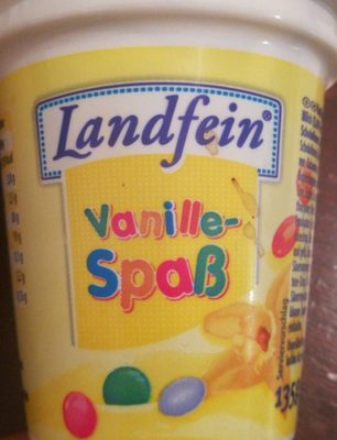 Yaourt vanille smarties