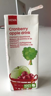 Cranberry apple drink