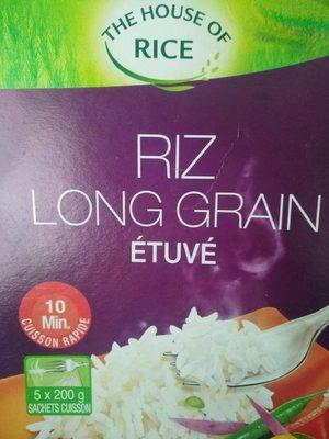 Riz long grain étuvé