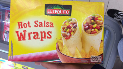 Hot Salsa Wraps