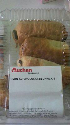 Pain au chocolat beurre x4