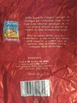 Baguette Saveur