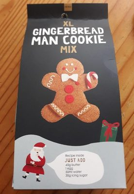 XL gingerbread man cookie mix
