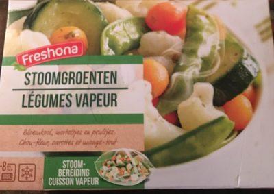 Legumes vapeur - chou-fleur, carottes et mange-tout