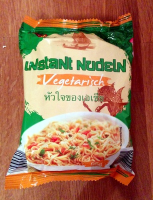 Instant Nudeln Vegetarisch