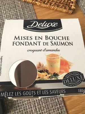 Mise en bouche fondant de saumon